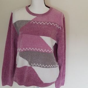 Alfred Dunner Sweater,  Size: Large